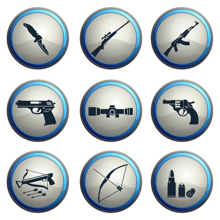 Weapon symbols Vector