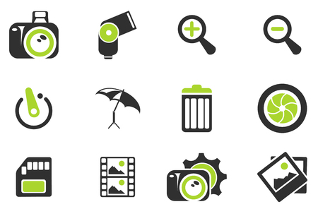 photography: Fotografie Silhouette Icons