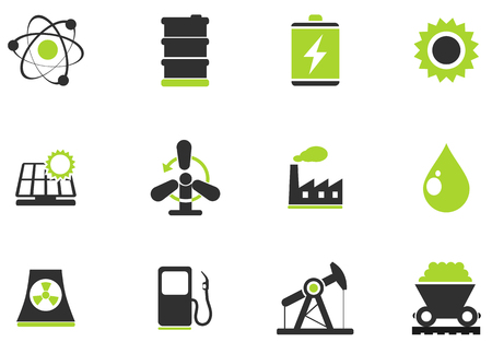 oil drum: Icon Set, Energy and Industry