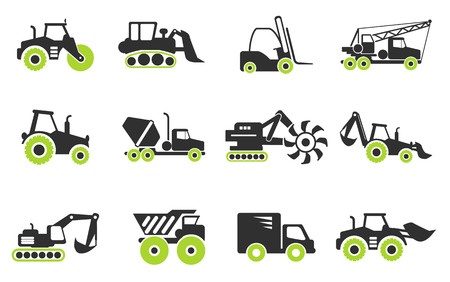 Symbols of Construction Machines