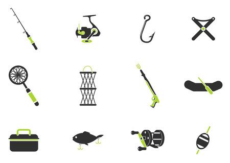 wobler: Fishing icon set