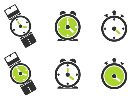 minute hand: Clock icon, watch, timer