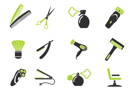 barbershop: Barbershop symbols Illustration