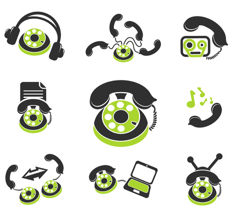 handsfree: Telephone Icons