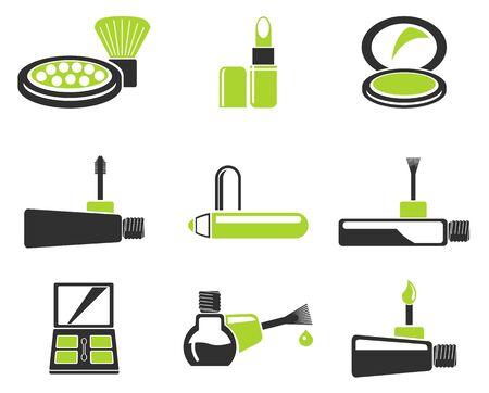 make-up producten pictogrammen