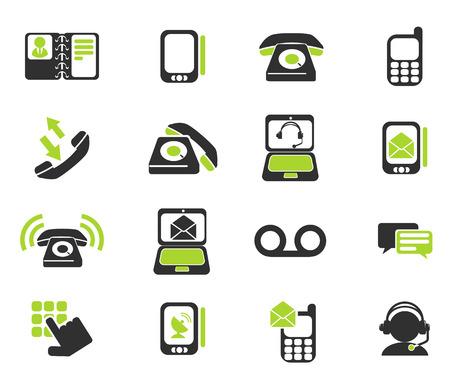 Iconos del teléfono Foto de archivo - 41774584