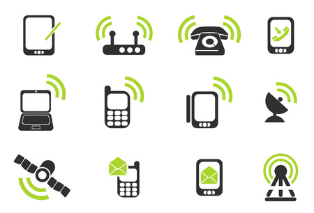 Mobile Icons Stockfoto - 41774596