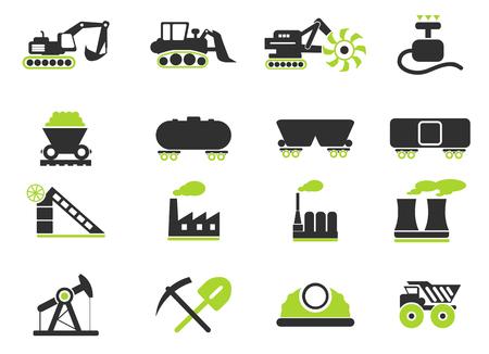 smoke stack: Fabbrica e Industria Simboli