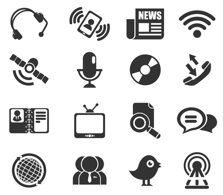 communication: communication icons