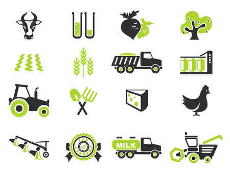 agricultural icon. simply symbol for web icons
