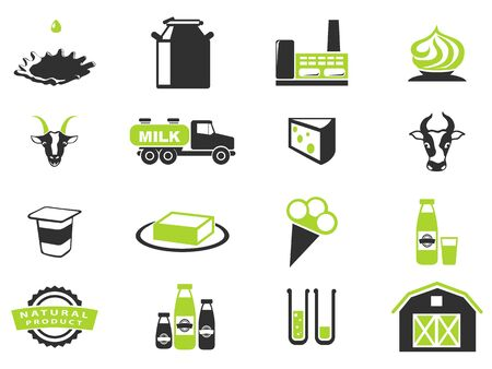 milk products: Milk. simply symbol for web icons in eps 10