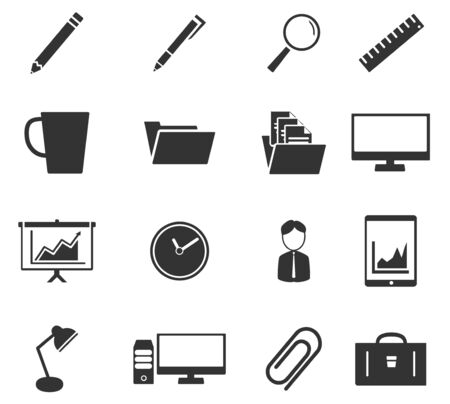 attache: Office simply icons