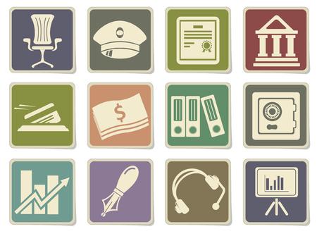 Iconos de Finanzas en eps 10 Vectores