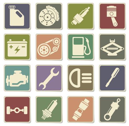 auto service: Auto Service Icons in eps 10
