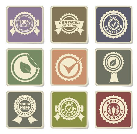 great seal: Seals icon