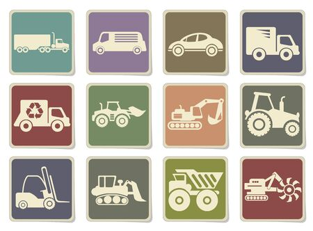 mover: Symbols of Transportation & Loading Machines