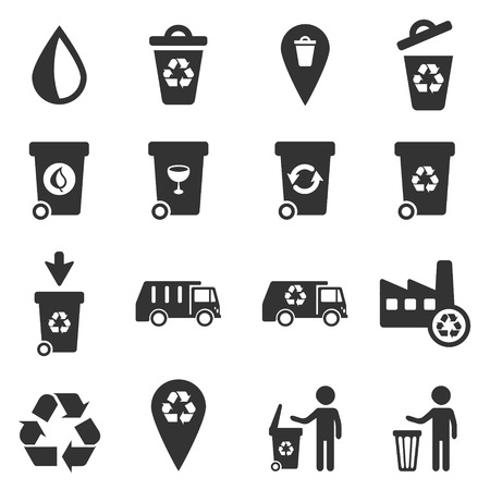utilization: Garbage simply icons