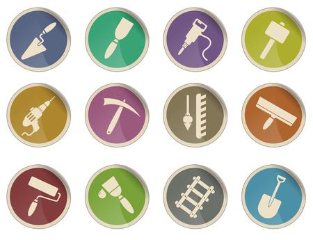 platen: Symbols of building equipment
