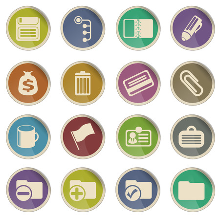 ring binder: Office simply symbol for web icons