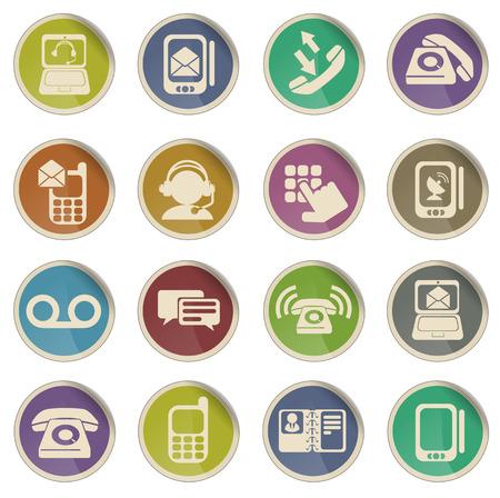 Telefoon alleen symbool voor web icons