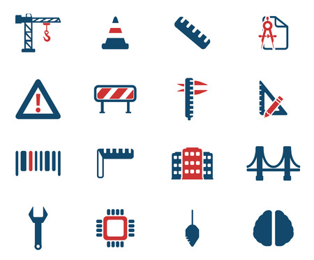 calliper: Engineering simply symbol for web icons Illustration