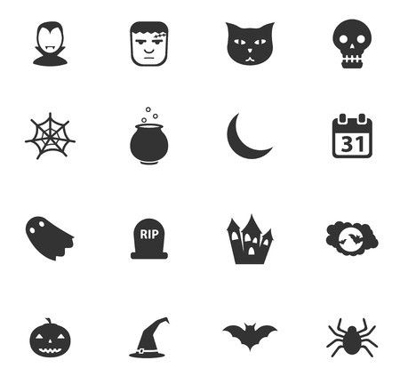 rip: Halloween simple symbol for web icons