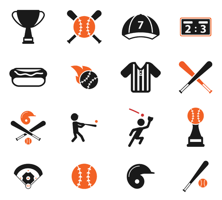 Baseball Simply Symbol For Web Icons Royalty Free Cliparts Vectors