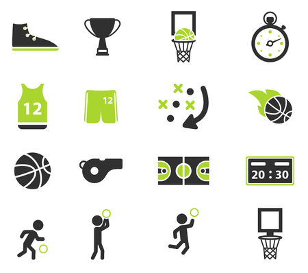 Basketball simply symbol for web icons