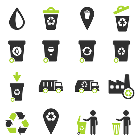 Garbage simply symbols for web icons