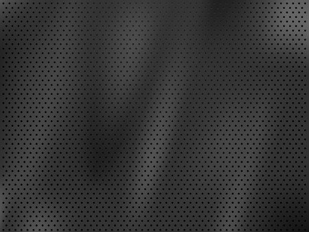 abstract aperture: Metal perforated background