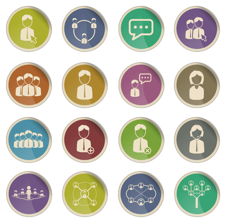 Community label icons for web
