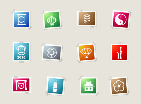 fortuna: Chinese New Year card icons for web