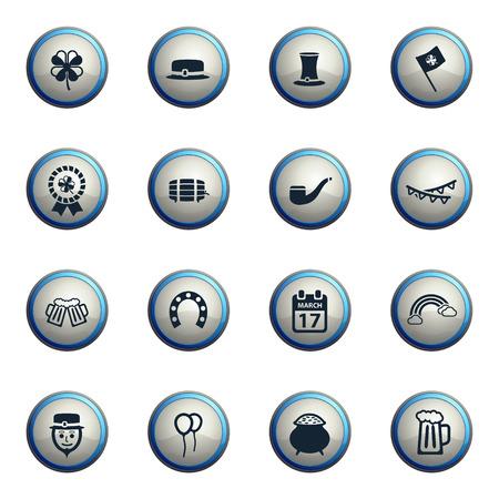 st: St Patricks chrome icons for web
