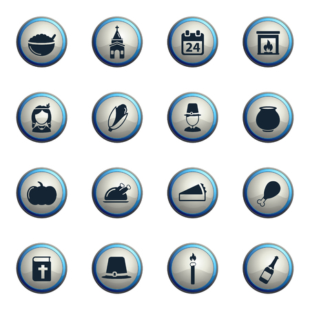 Thanksgiving chrome icons for web