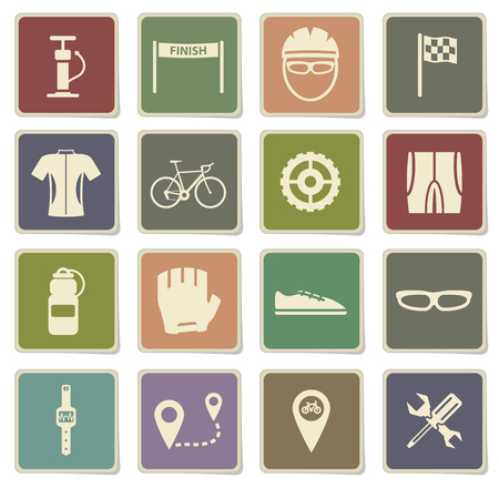 bycicle: Bycicle label icons for web