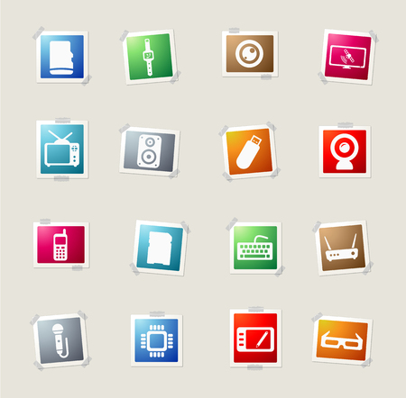 micro drive: Gadgets card icons for web