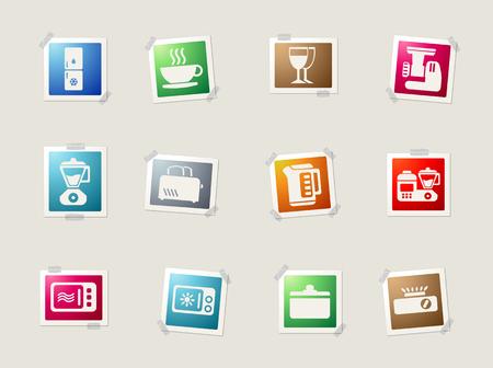 utensils: Kitchen Utensils card icons for web