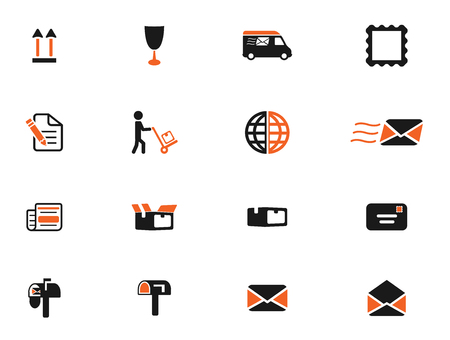 sender: Post service simply icons for web