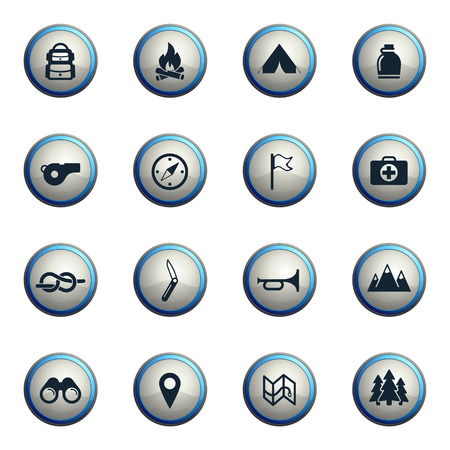 scout: Boy scout chrome icons for web