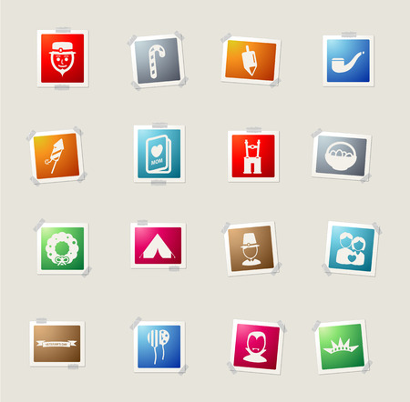 settler: Holidays card icons for web