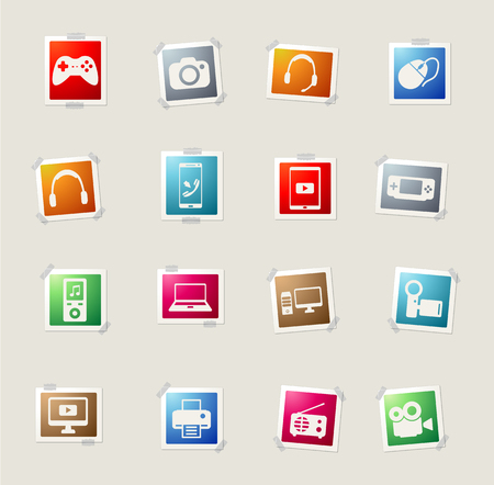 portable console: Gadgets card icons for web