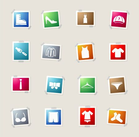 button down shirt: Clothes card icons for web