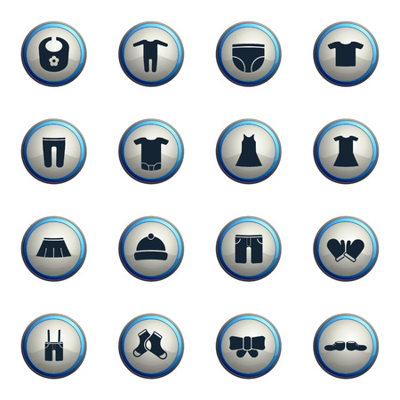 boy underwear: Baby clothes chrome icons for web