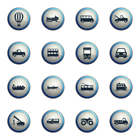 highspeed: Transportation chrome icons for web