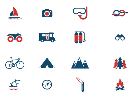 drawing compass: Active recreation simply icons for web