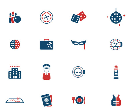lifejacket: Cruise simply icons for web