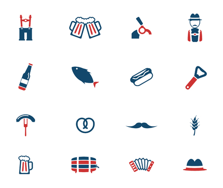 suspenders: Oktoberfest simply icons for web