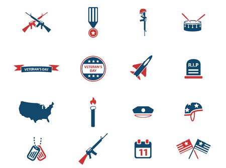 iconos: D�a de los Veteranos simplemente iconos