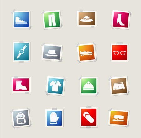 boy underwear: Clothes card icons for web