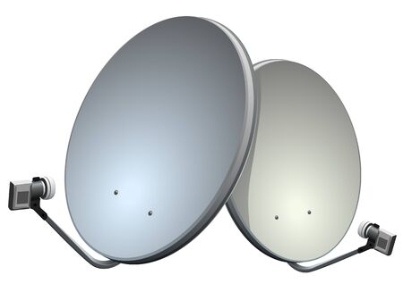 satelite: Satelite dish vector illustration. Vector illustration in eps 10 Illustration